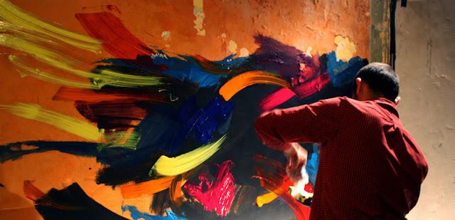 artiste peintre bordelais jean baptiste besançon peinture acrylique