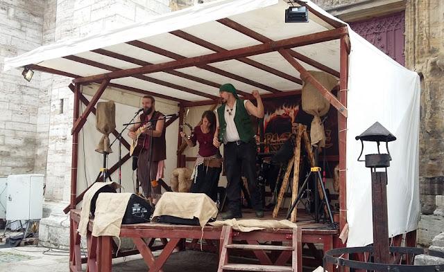 Auftritt Exoriente beim Mittelaltermarkt in Bad Langensalza