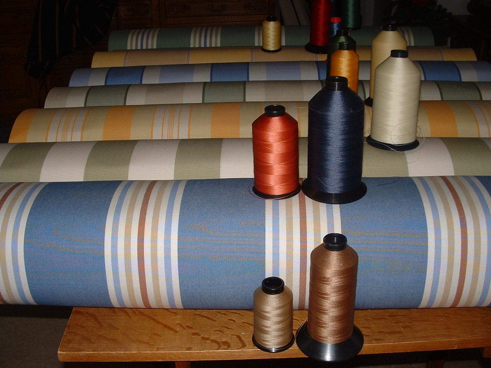 Vintage Awnings: Spring 2012 Vintage Trailer Awning Fabric ...