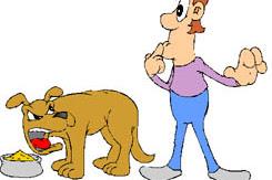 Kisah Teladan : Sanggup Makan Dengan Anjing?