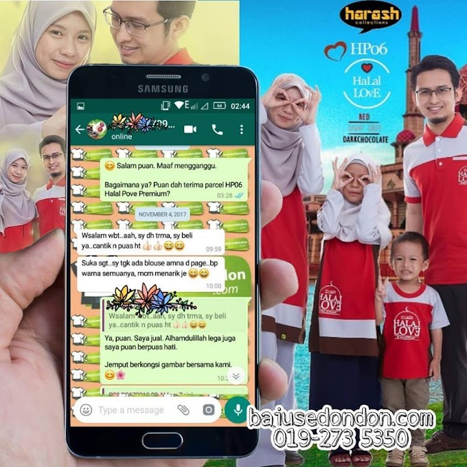 Testimoni Halal Love Premium