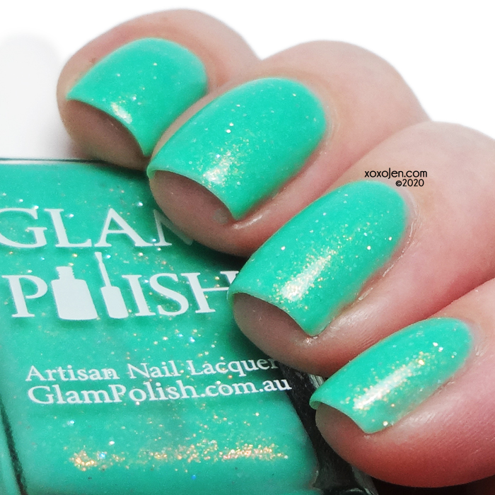 xoxoJen's swatch of Glam Polish The Child