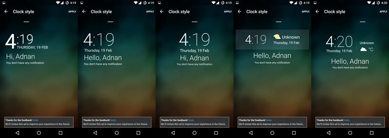Cara mempercantik Lockscreen Android menggunakan Hi Locker