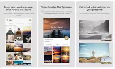 Fotor aplikasi edit foto