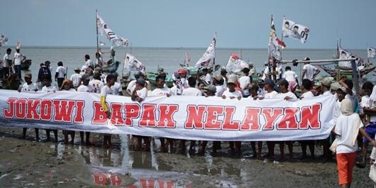 Relawan Juluki Jokowi Sebagai Bapak Nelayan