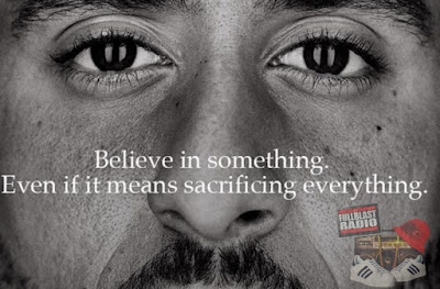 Believe in something, Even if it means sacrificing everything.