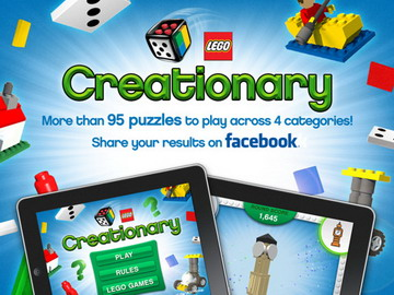 LEGO Creationary iOS game released on App Store