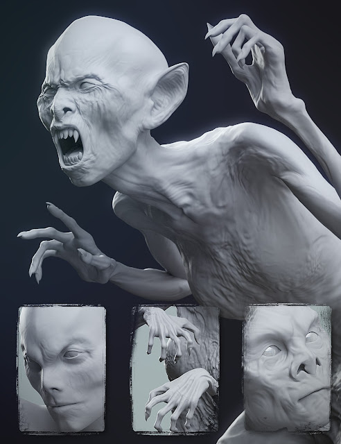 Undead Creature Creator HD Morph Pack for Genesis 3 Female