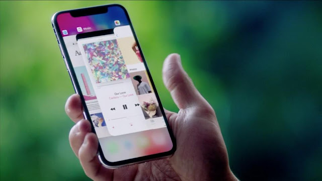 i phone x first look