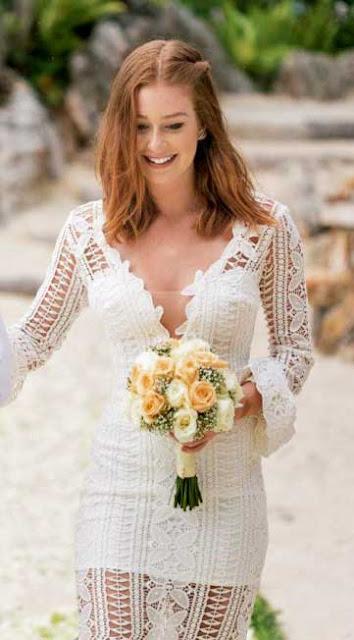 Marina Ruy Barbosa, noiva na Tailandia
