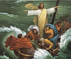 Jezus ucisza burzę