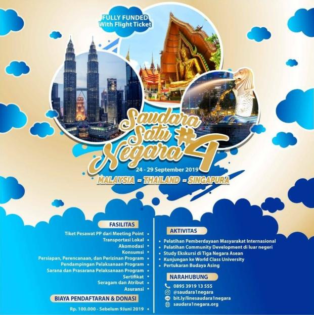 SaudaraSatuNegara #4 Goes to ASEAN 2019