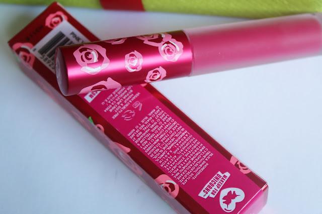 Lime Crime Velvetines matte lipstick Pink Velvet