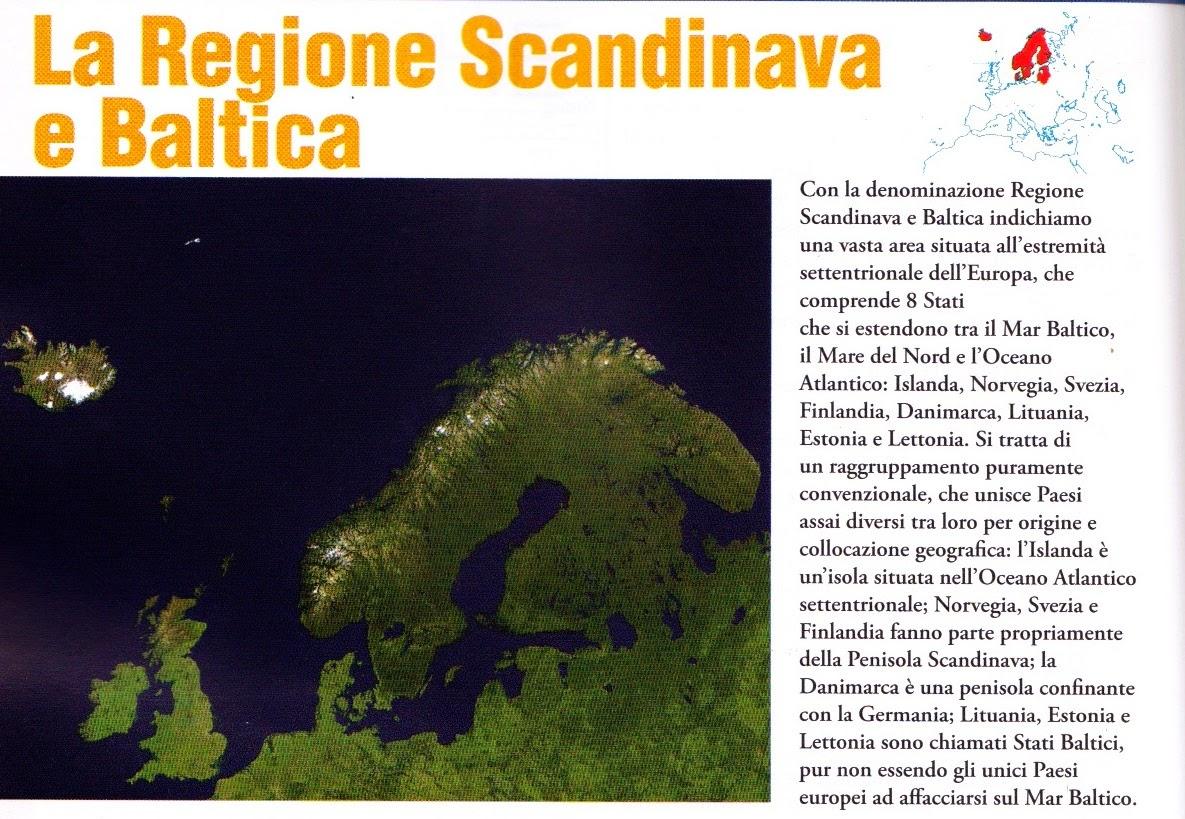 Classe 1b Cassandro 2013 2014 Regione Scandinava