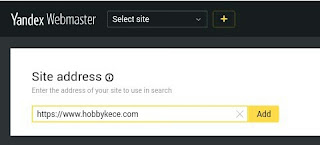 Cara Daftar Yandex Webmaster Dan Sumit Blog