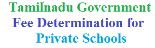 tn government determined fee for private schools 2016-2017 academic year