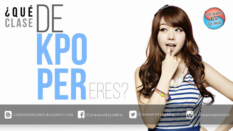 Juego Que Clase De Kpoper Eres Coreano Es Lo Mio