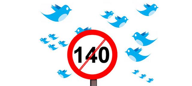 Twitter cambia su límite de los 140 caracteres en septiembre