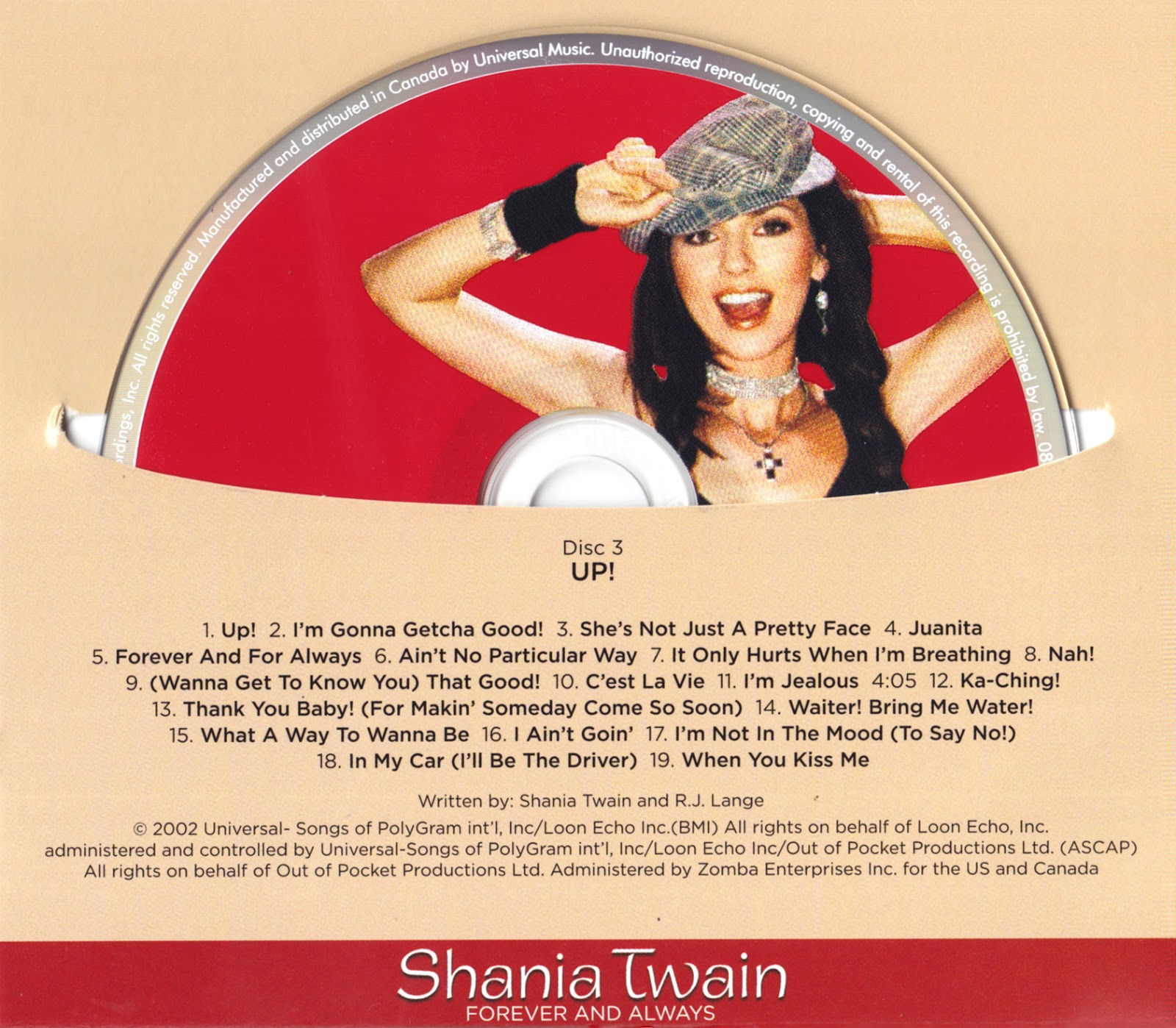 Shania Twain Discography Compilation Cd S