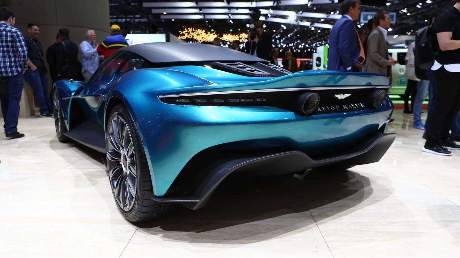 Trussty Jasmine Here S The First Aston Martin S Mid Engined Car Production Series Shown In Geneva