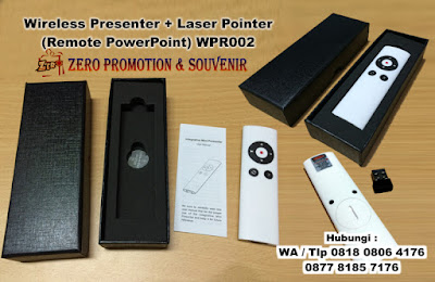 Jual Wireless Presenter + Laser Pointer (Remote PowerPoint) WPR002