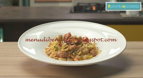 Pronto e postato - Tagliatelle con ragù di pesce ricetta Benedetta Parodi