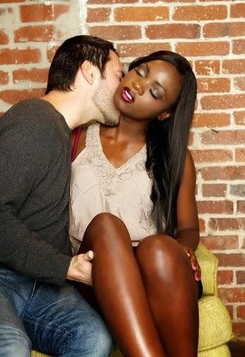 Black girl white man dating