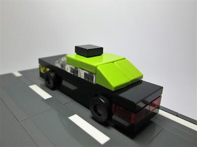 MOC LEGO Micro Táxi português