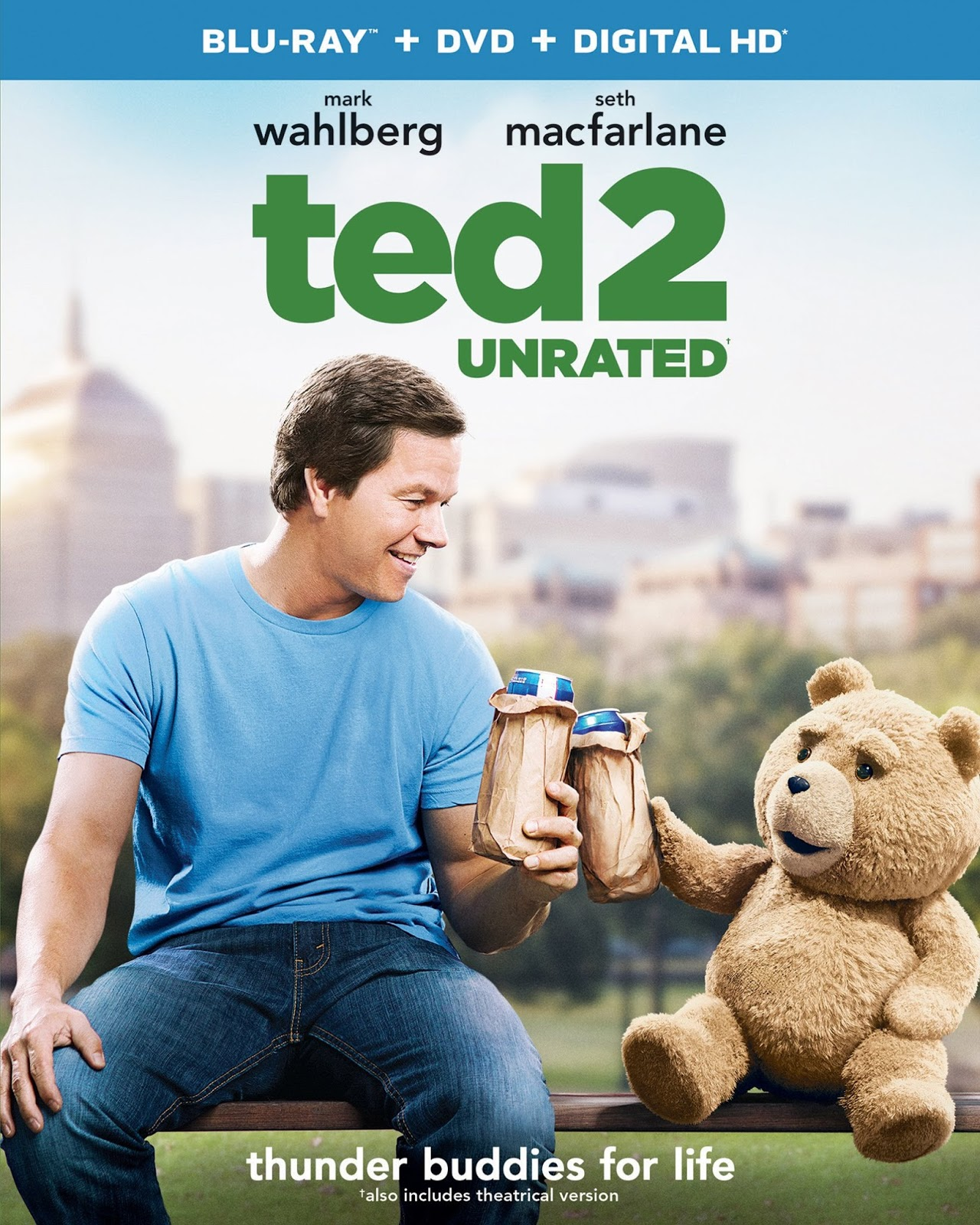 Ted 2 (2015) 1080p BD25 Cover Caratula Blu-ray