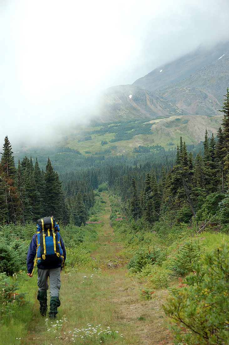 Yukon Rambles Hiking The Notch Environmental History On