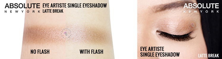 Absolute New York Eye Artiste Single Shadow Latte Break Review