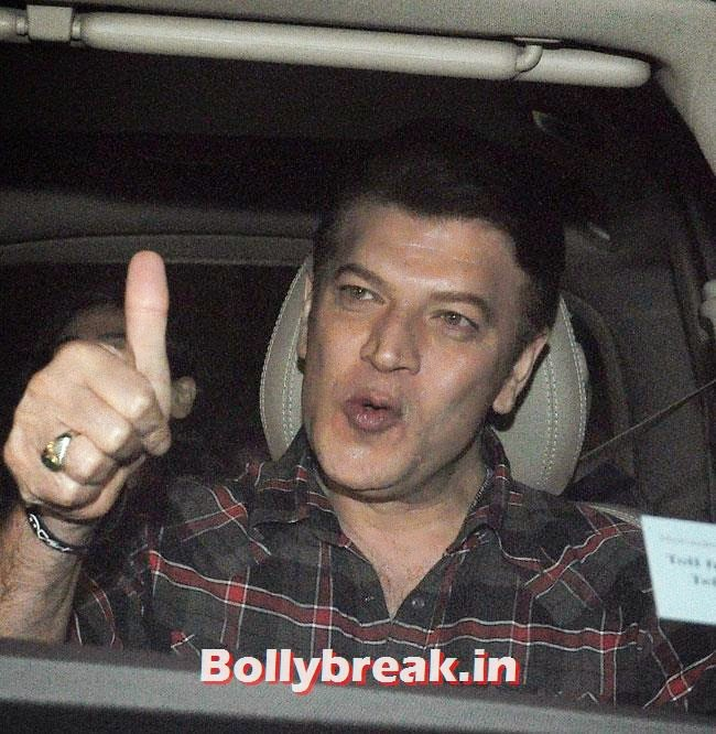 Aditya Pancholi, Celebs at Heropanti Special Screening