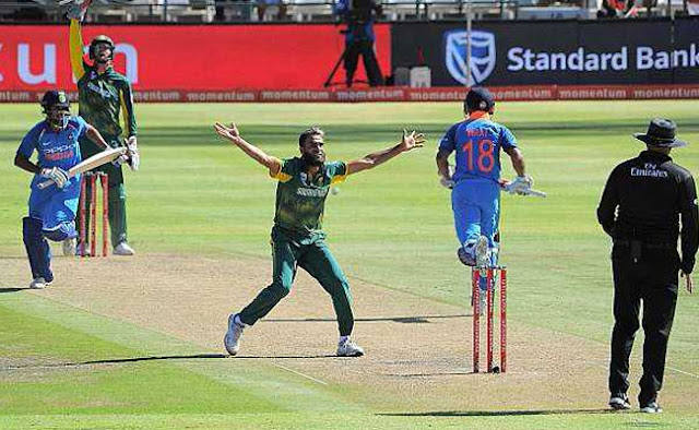 IND VS SA 4th ODI: Imran Tahir in Johannesburg ODI, victim of racial anger, watch video, strongly debate with viewers