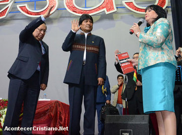 Evo Morales y los evangélicos