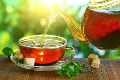 hình ảnh trà tiêu đen