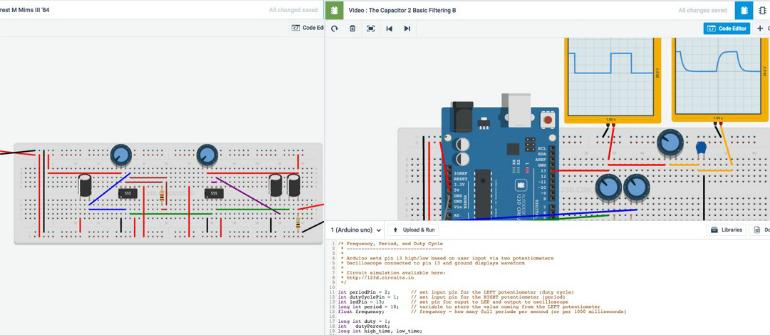 AutoDesk Circuits - Electronics Lab!