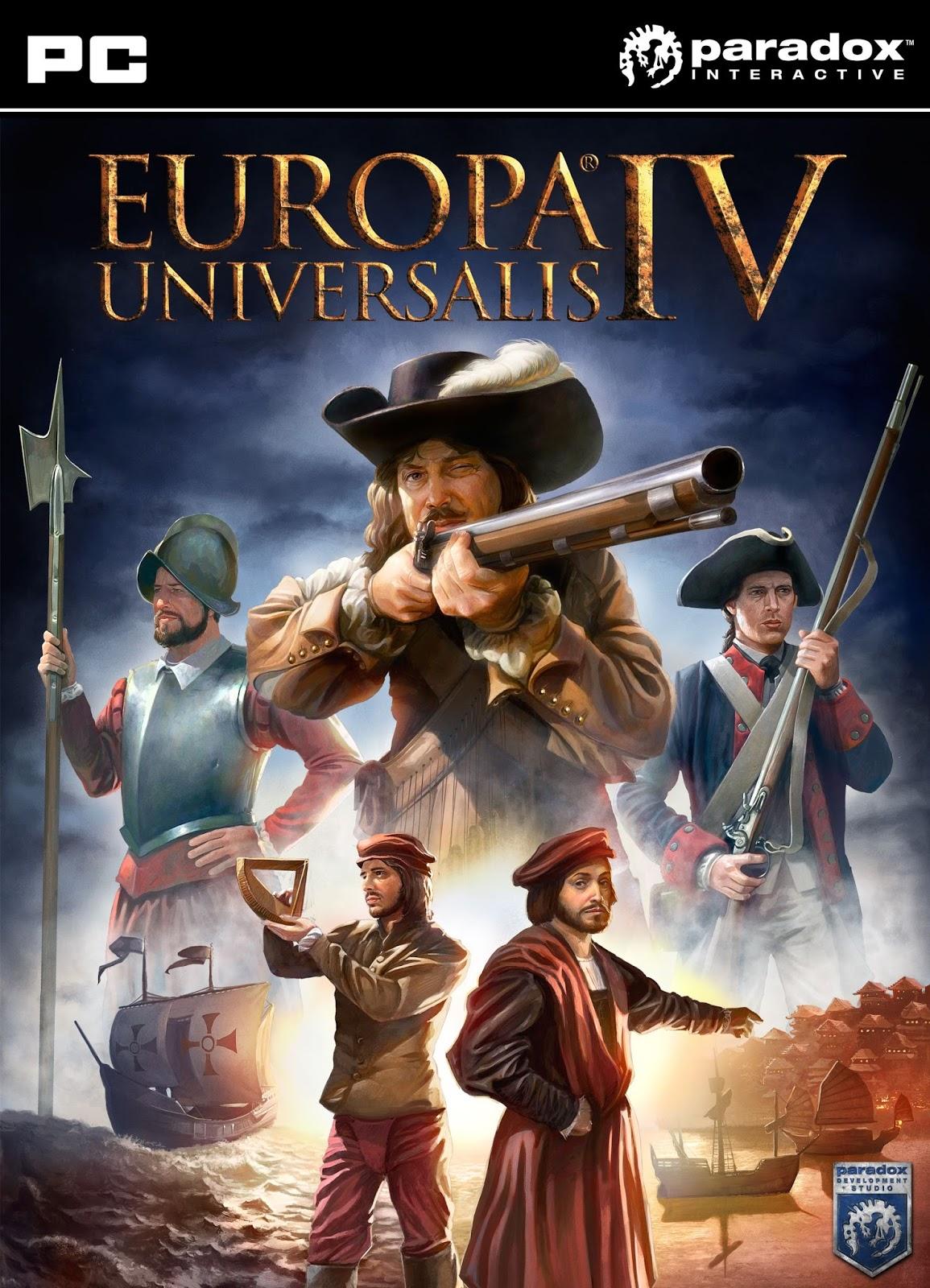Europa Universalis 4 PC - Europa Universalis IV v1.15.0 (Inclu 47 DLC)