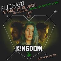 Flechazo presenta Kingdom en Sala el Sol