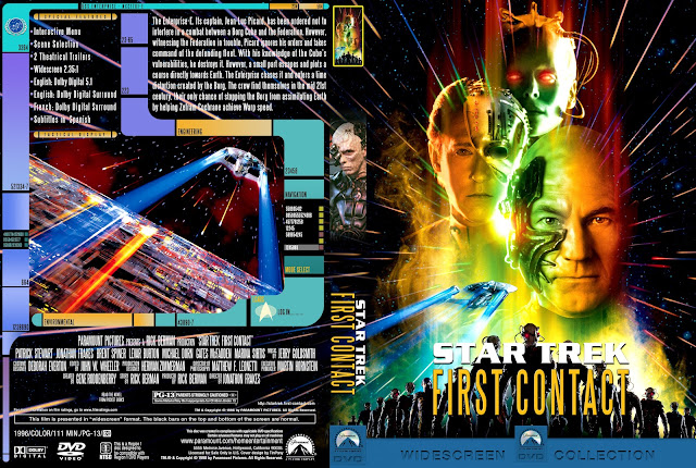 Capa DVD Star Trek First Contact