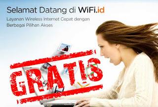Gratis Akun WIFI ID Unlimited sampai Akhir Tahun 2019