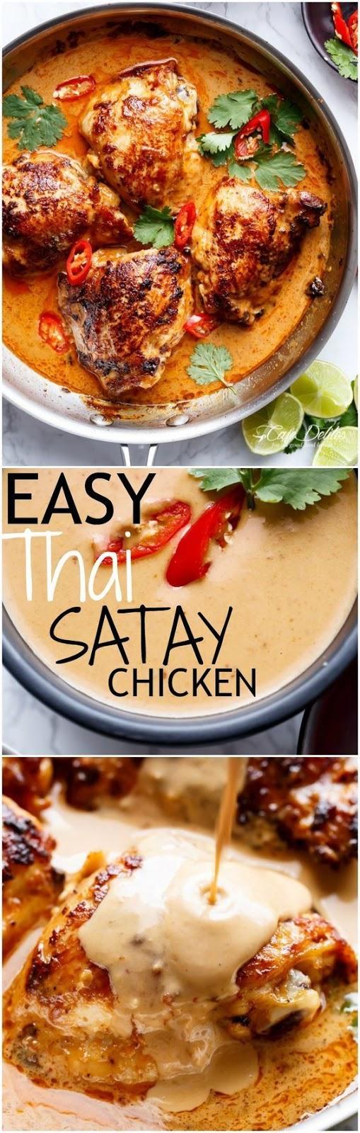 Easy Thaí Satay Chícken