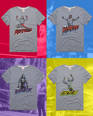 WWE Royal Rumble Winners T-Shirt Collection by HOMAGE
