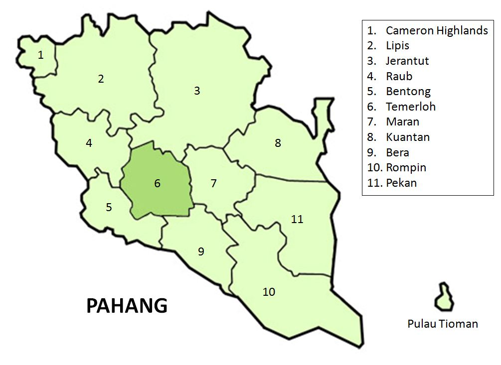 article on the subject of pahang