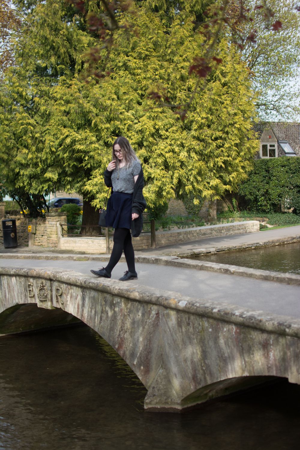 Tess on the Water spring OOTD cotswolds