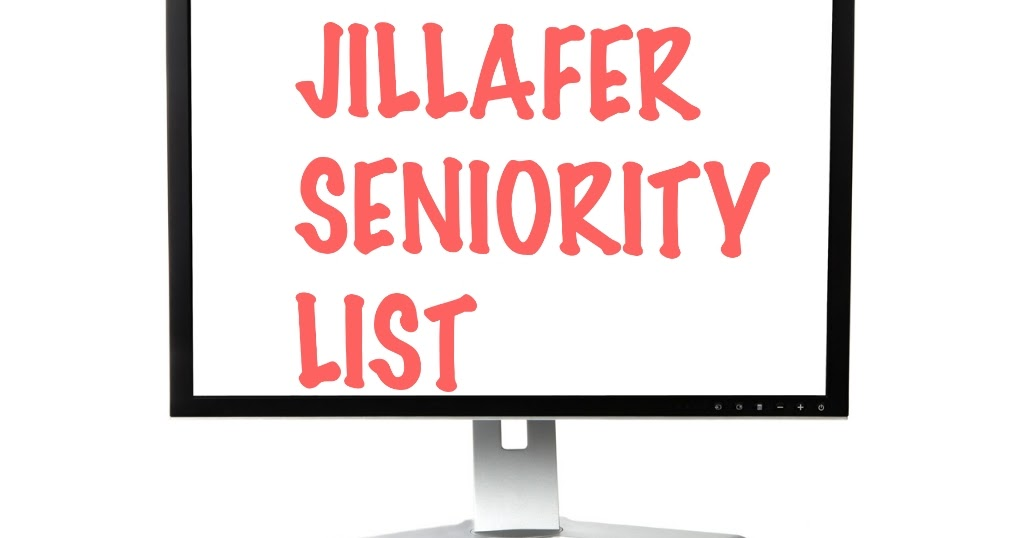 Surat Jillafer Badli camp ane Seniority list