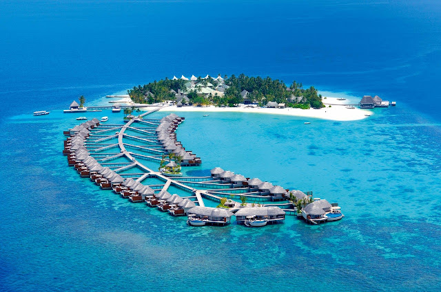 Maldives is one of the most romantic destinations in the world