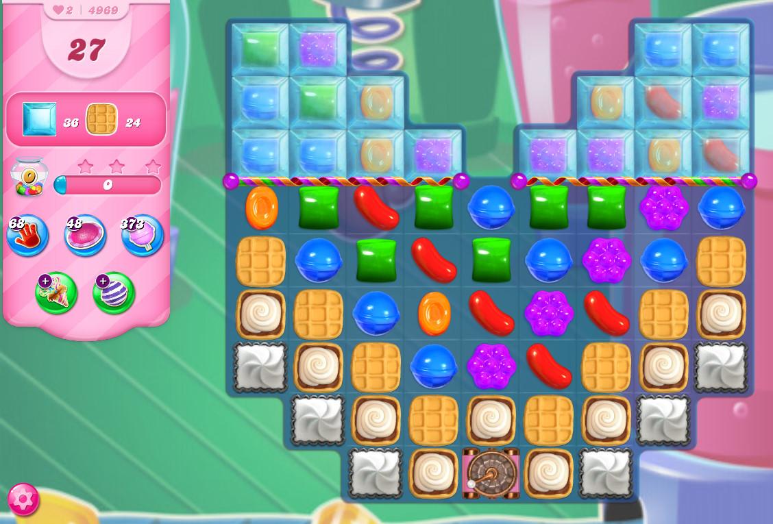 Candy Crush Saga level 4969