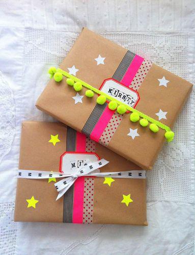 7 ideas creativas para envolver regalos de forma original - Creatividad para regalar ...