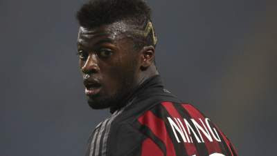 Spurs sent a scout to watch Niang play for Milan