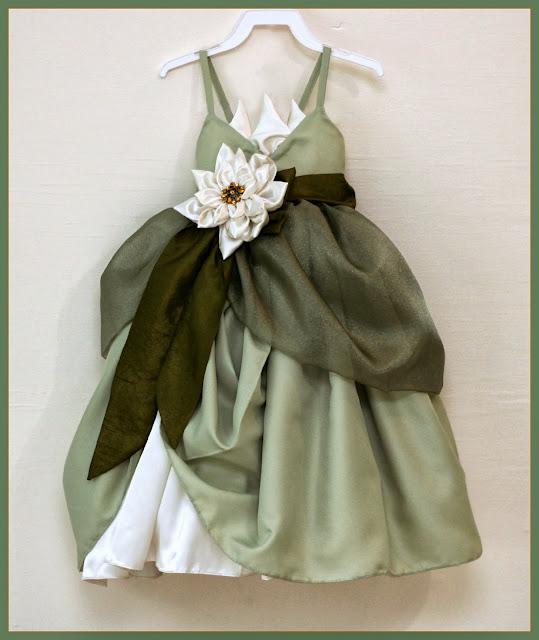 Princess Tiana Dress: Peaches And Bees: Tiana Dress For Little Momo